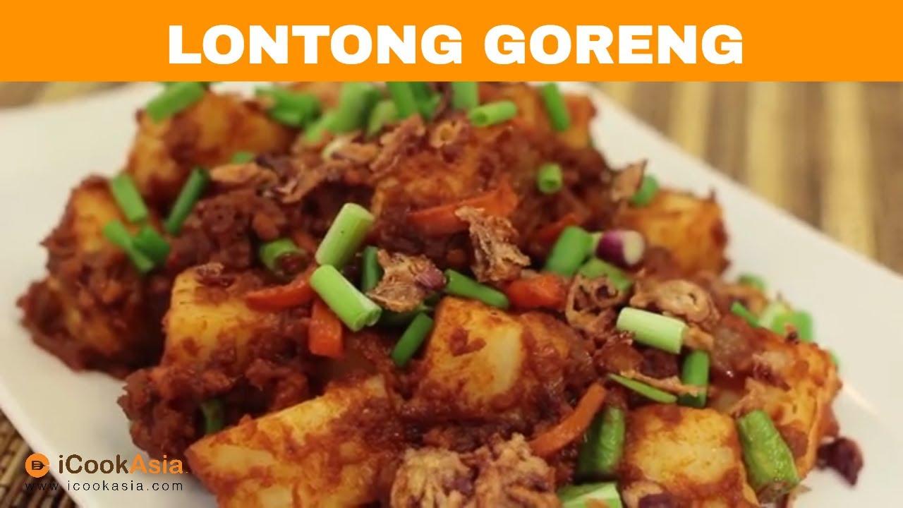 Resepi Lontong Goreng Try Masak Icookasia Youtube