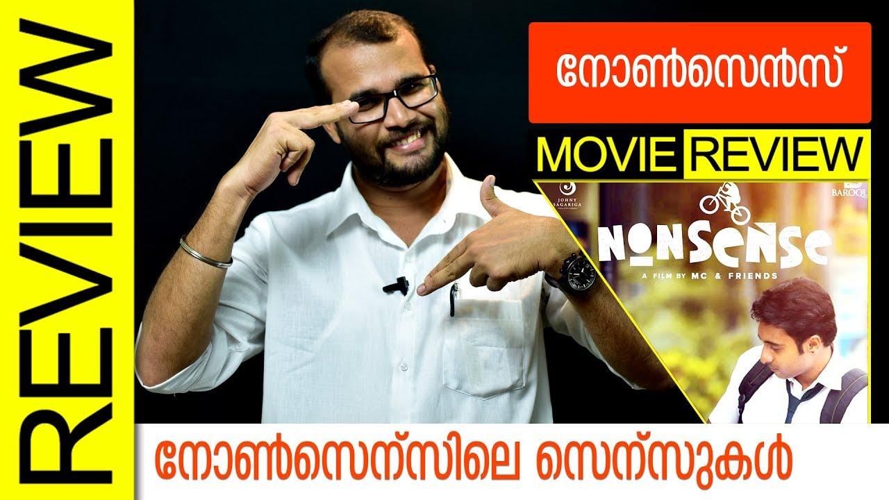 Nonsense Malayalam Movie Review by Sudhish Payyanur | Monsoon Media