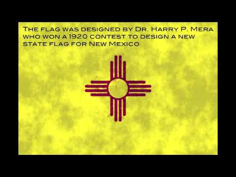 Flag Facts Flag Of New Mexico Youtube