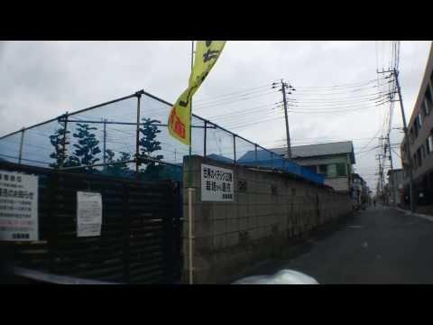 いちぢく a fig farm, Kato-Farmへの道 (車載動画)市川市Chiba,Japan.