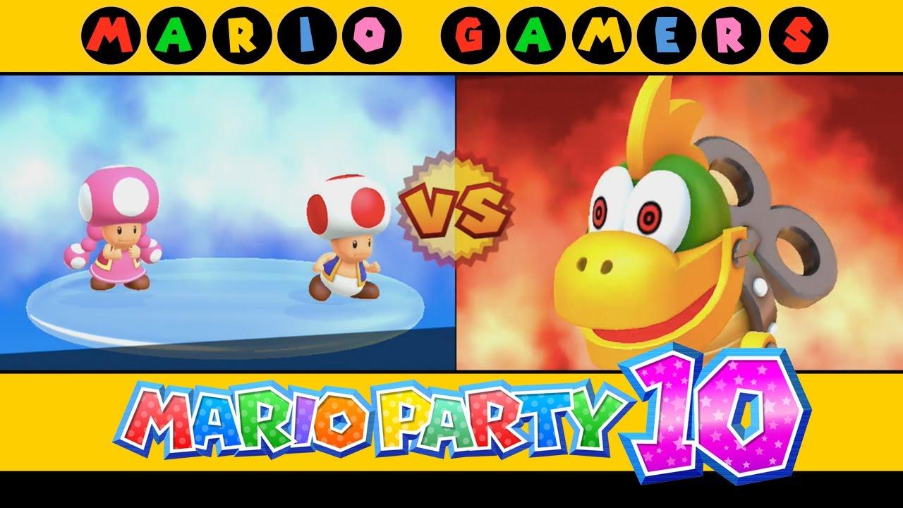 Mario Party 10 - Chaos Castle (Toad vs Toadette) - Mario ...