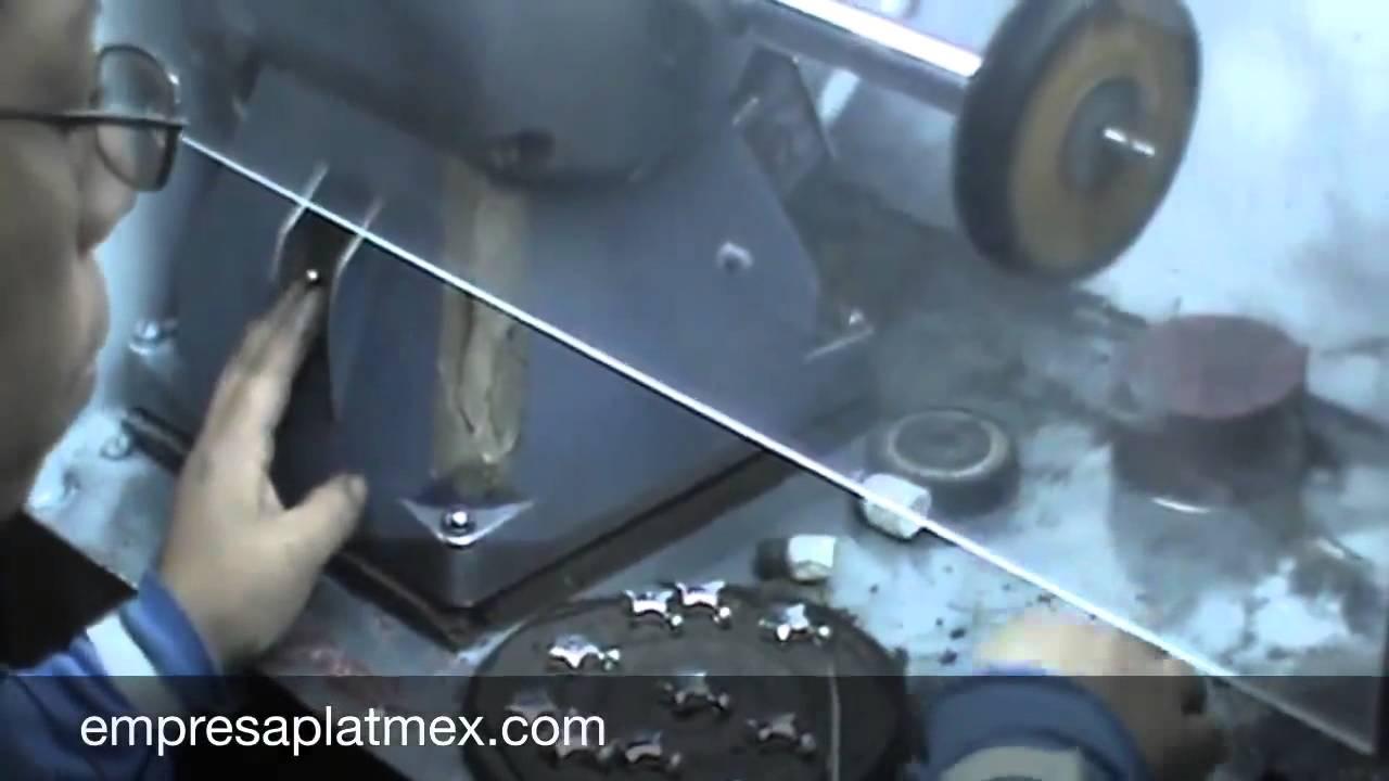 Pulido a mano acabado brillo joyeria fabrica servicio for Metal rodio en joyeria