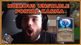Hearthstone: Noxious - Unstable Portal Karma