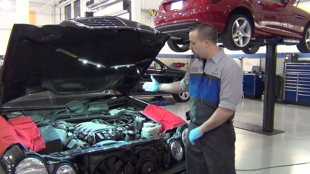 Service Check Engine Light Youtube 2001 Mercedes Slk230 Fuse Diagram