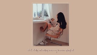 Cover images 잔잔한 공부 토요일 저녁에 ; chill study saturday evenings korean playlist ♪