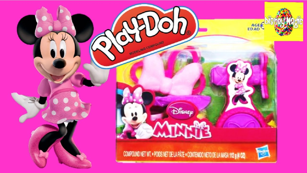Toysrus Manualidades.Minnie Mouse Disney Play Doh Fun From Toys R Us For Kids Youtube