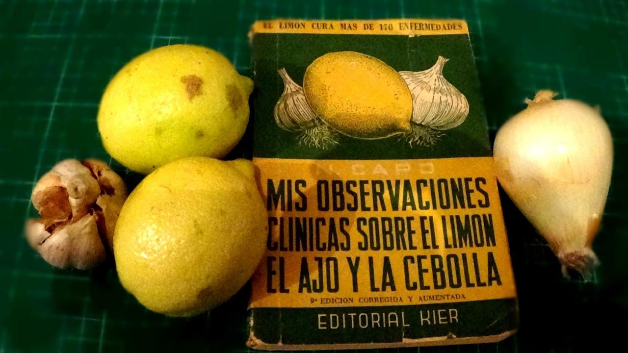 Remedio para adelgazar con ajo y limon
