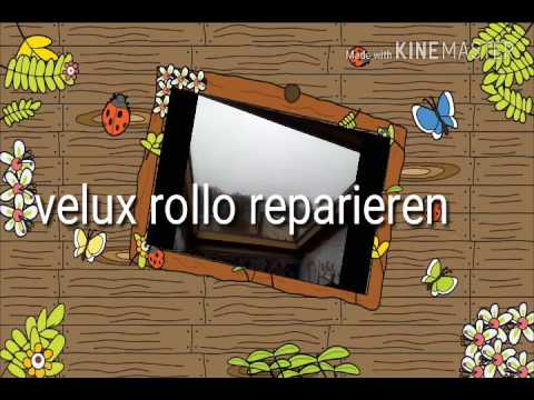 velux rollo reparieren youtube. Black Bedroom Furniture Sets. Home Design Ideas