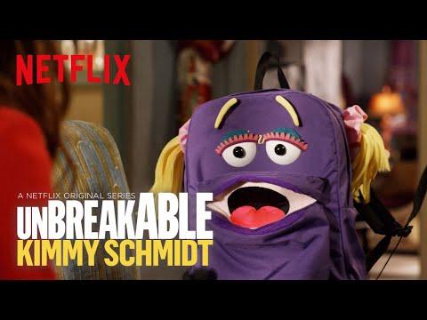 Unbreakable Kimmy Schmidt: Season 4   Behind the Scenes with Jan the Backpack   Netflix