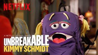 Unbreakable Kimmy Schmidt: Season 4 | Behind the Scenes with Jan the Backpack | Netflix