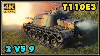 World of Tanks | T110E3 - 10 Kills - 10,1K Damage - 2 VS 9 Gameplay