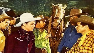 THE YELLOW ROSE OF TEXAS | Roy Rogers | Dale Evans | Full Length Musical Western Movie | English