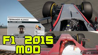 F1 2015 MOD FOR F1 2014! - MOD REVIEW
