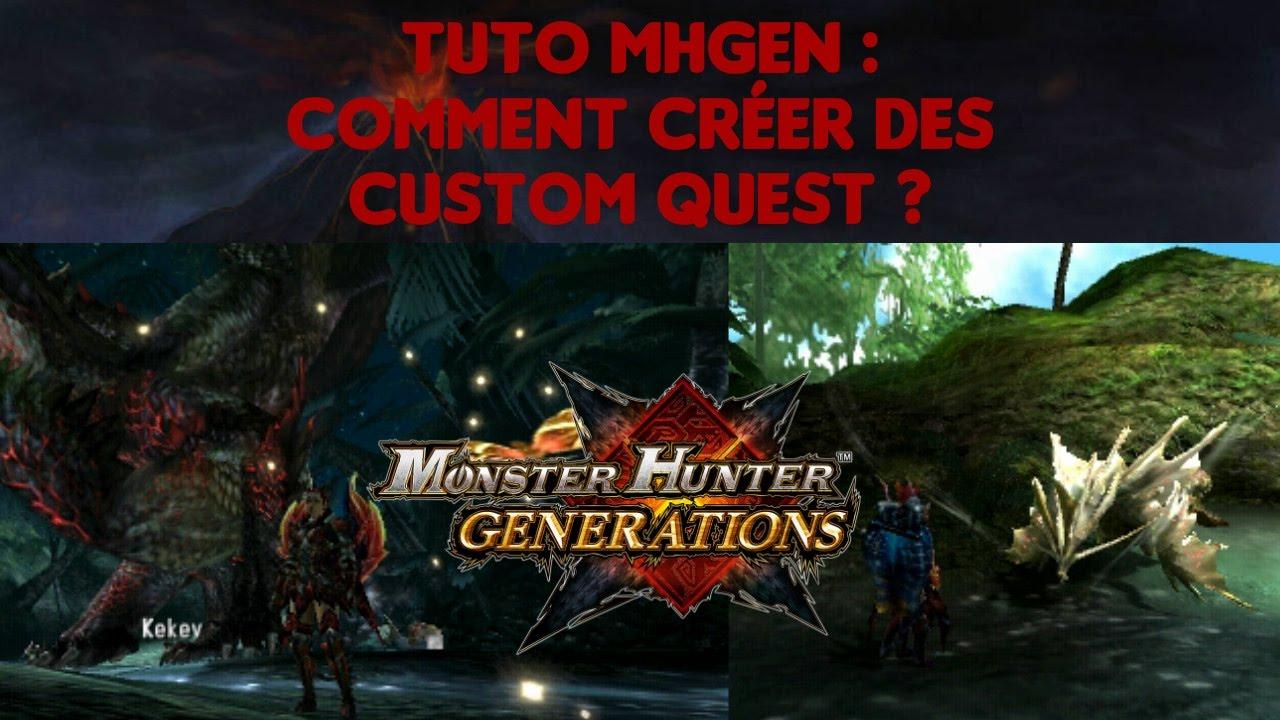 Tuto MHGen : Comment créer des custom quest ?