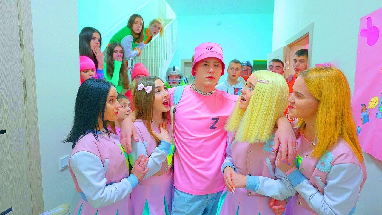 Download ¡El nuevo chico glamoroso de Bunny School es la nueva novia de la Cheerleader Diana!