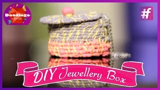 Diy Tutorial | This Diwali Make Jewellery Box In Your Own Style