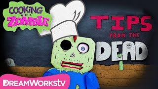 COOKING WITH A ZOMBIE | Zombie Kitchen Takeover