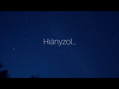 MECKS - HIÁNYZOL (OFFICIAL LYRIC VIDEO)