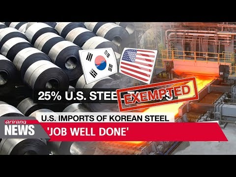 "S. Korean president calls Korea, U.S. FTA revision talks ""job well done"""