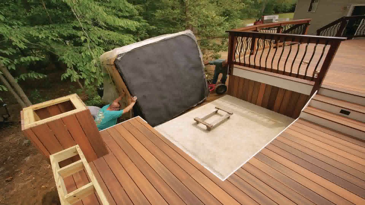 Hot Tubs And Deck Ideas