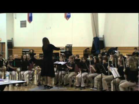 "Morton Junior High School  6th Grade Band ""Onward and Upward"""