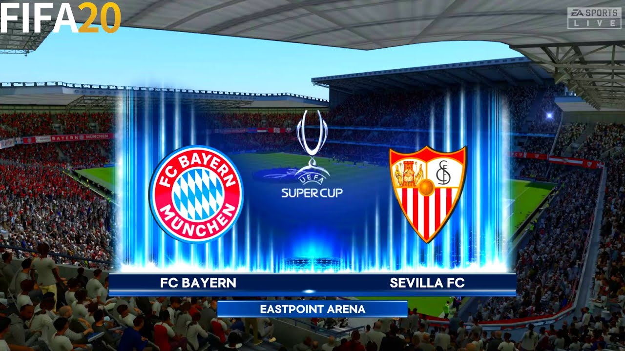 FIFA 20 | Bayern Munchen vs Sevilla - UEFA Super Cup - Full Match & Gameplay