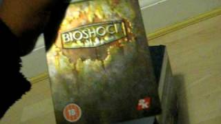 BIOSHOCK LIMITED EDITION UNBOXING!!!!!!!!!!!!!!!!