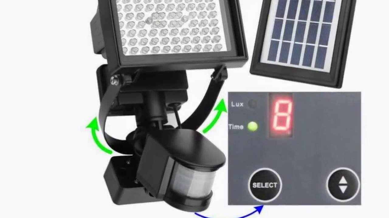 Led solar lights outdoor lighting best powered energy flood led solar lights outdoor lighting best powered energy flood security house kits review youtube mozeypictures Image collections
