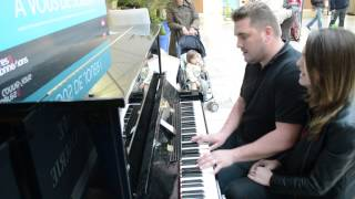Wrecking Ball-Gare Montparnasse - Piano Voix - Elisa 11 ans