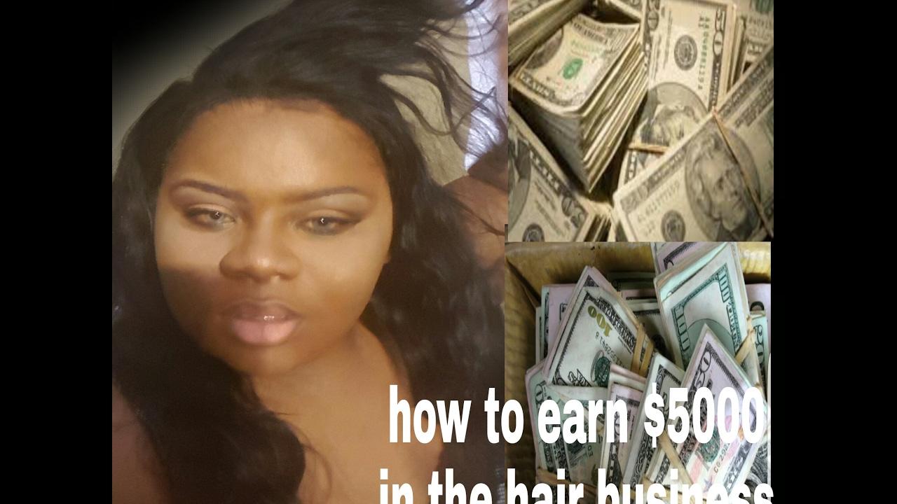 How To Earn 5000 Selling Virgin Human Hairhair Vendormarketing