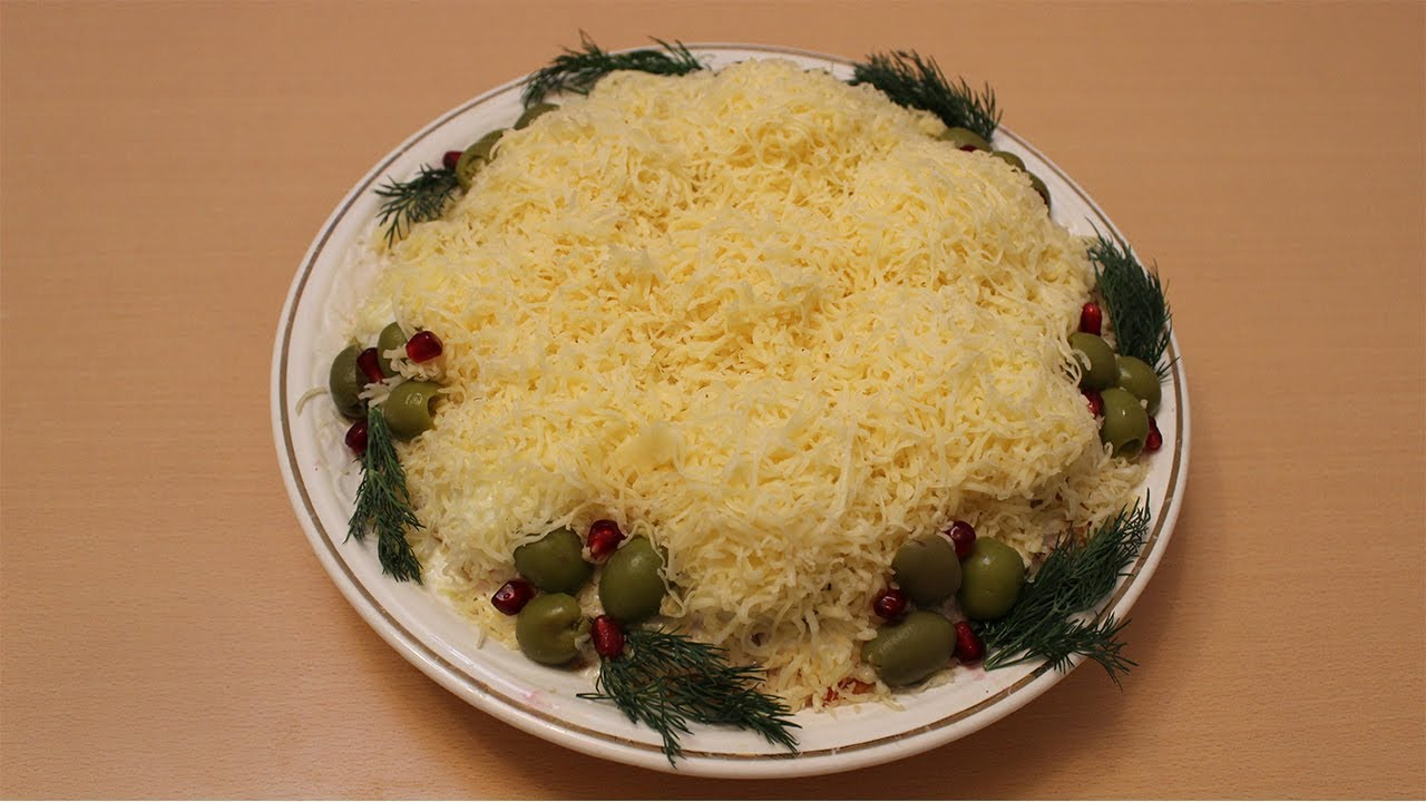 популярное место салат снежные сугробы рецепт с фото сшивается круг