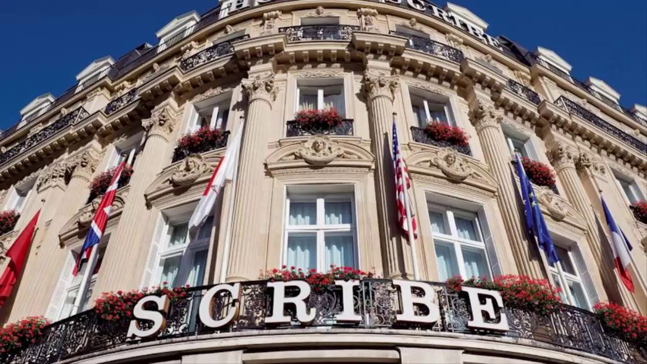 Hotel Scribe Paris Opera By Sofitel 5 Star Hotels In