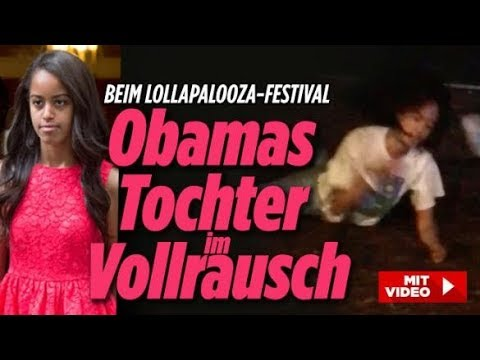 Obamas Töchter total besoffen / Soldaten-Angriff in Paris /Netflix - Die aktuellen News