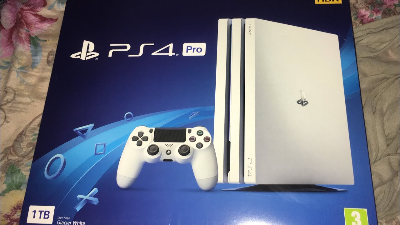 Unboxing Ps4 Pro 7216b White Glacier Playstation Barato Youtube