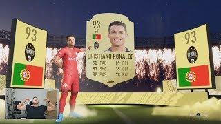 OMG I PACKED CRISTIANO RONALDO 😱 THE BEST FUT CHAMPS REWARDS ON FIFA 20 (INSANE REWARD PACKS)