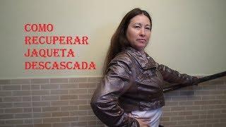 COMO RECUPERAR JAQUETA DESCASCADA COM D. RELEVO 3D