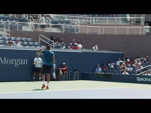 [LIVE] US Open Tennis 2017: Marin Čilić/Feliciano López Practice