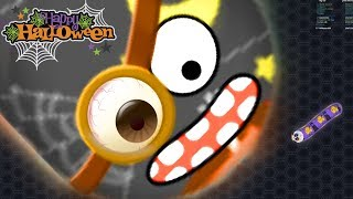 Wormate.io Happy Halloween Legendary Pro Skill Strong Bad Worm Ever Wormateio Epic Gameplay Moments!