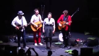 "La famille Chedid ""Les absents ont toujours tort"" live - Lyon 22/06/2015"