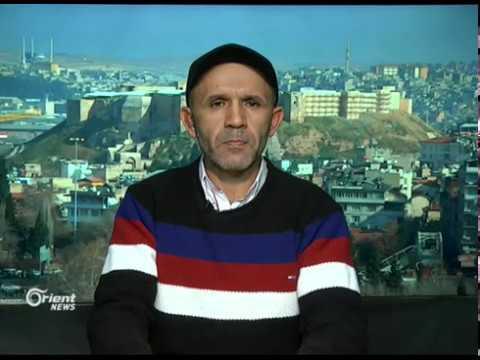 اجتماع مسؤولين أمريكيين مع الوحدات الكردية في مدينة الطبقة في الرقة  - 20:21-2018 / 3 / 17