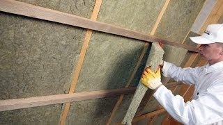 видео Как утеплить стены изнутри в частном доме, стены каркасного дома