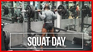 Overcoming Injury - 160kg Squats
