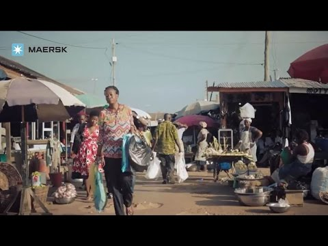 Maersk - Growing Trade Relations In West Africa - WAFMAX Vessels