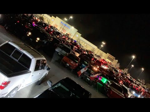 How crazy was the first car meet I hosted in Odessa Tx?! **INSANE AMOUNT OF PEOPLE**