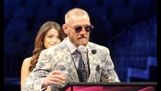 CONOR McGREGOR REACTS TO HIS 10th ROUND TKO DEFEAT TO FLOYD MAYWEAT...