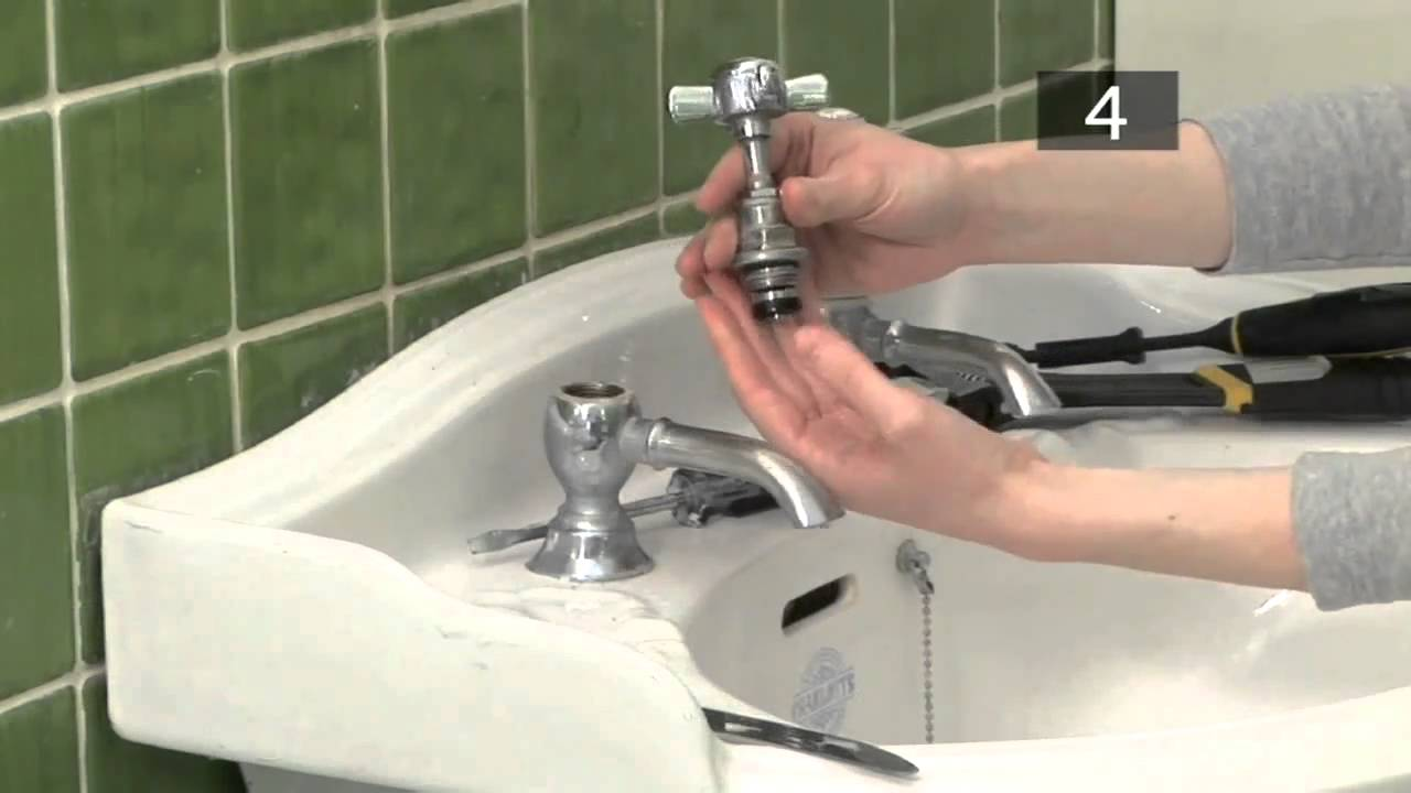 How To Fix A Dripping Tap (Bib Or Pillar) - YouTube