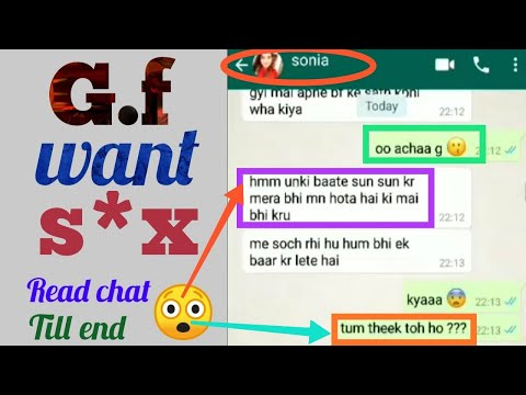 Girl Hungry For S*x 😳😘😍 || Read Full Viral Chat