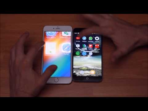 MEIZU MX4 VS IPHONE 6 PLUS