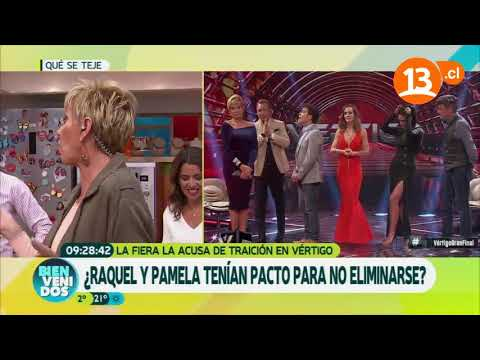 La traición de Raquel a Pamela (Parte 1) | Bienvenidos