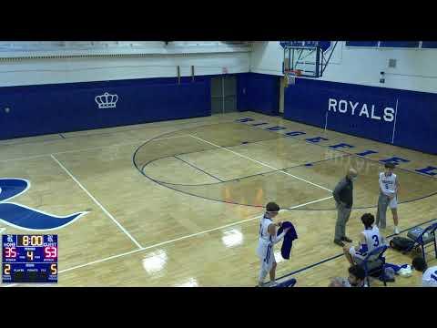 Ridgefield Memorial vs. Waldwick High School Varsity Mens' Basketball